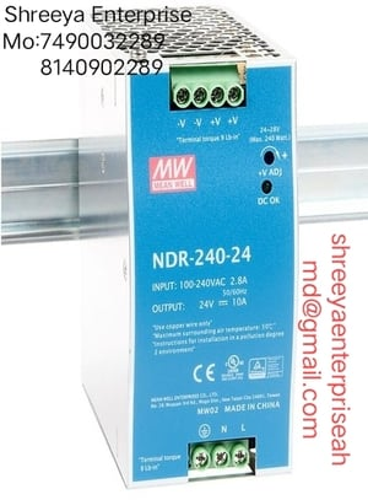 switch mode power supply NDR 240-24