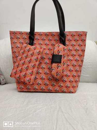 Cotton Ladies Hand Bag