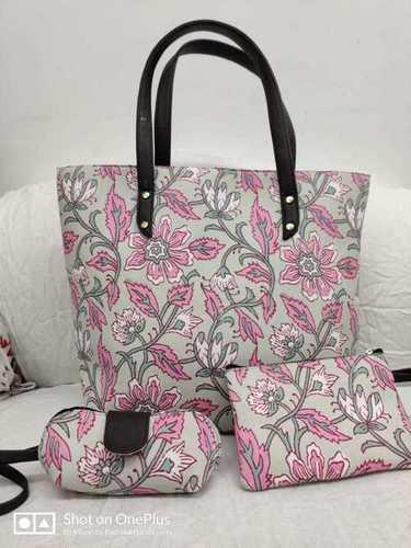 Ladies Cotton Hand Bag