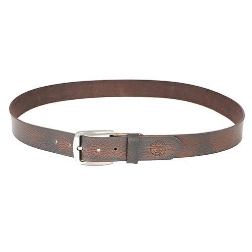 Textured Leather Belt