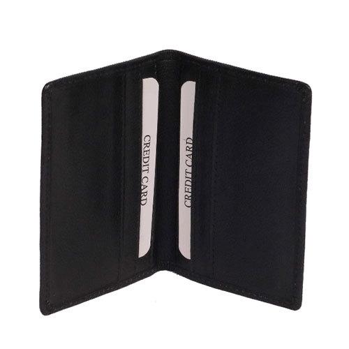 Black Bifold Card Case