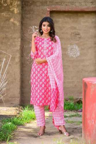 Printed Stitched Salwar Suits