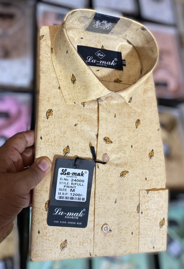 Mens 100% Cotton Full Sleeve Shirts