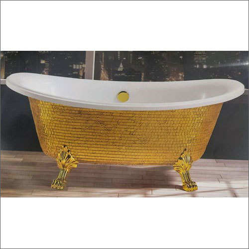5.3x2.6 Feet Modern Golden Bath Tub