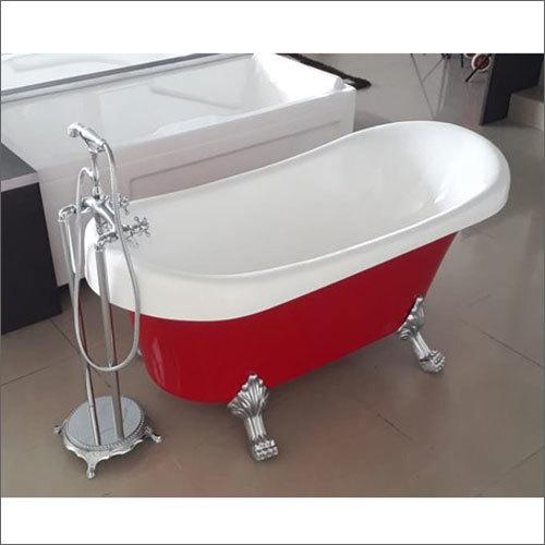 5.3x2.6 Feet Classic Red Bath Tub