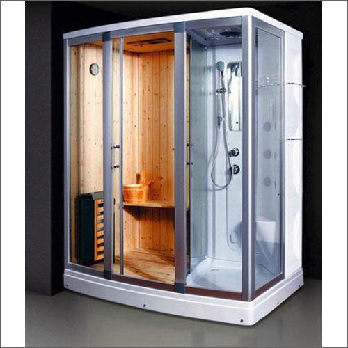 Sauna Room With Steam Bath