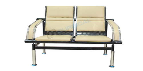 TWO SEATER WAITING AREA CHAIR (SIS 2061C)