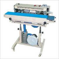 Air Flushing Continuous Band Sealer Machine