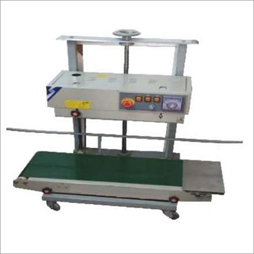 Wide Conveyor Continuous Band Sealer Machine