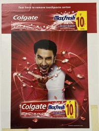 Tooth Paste Packaging Pouches