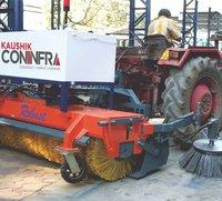 hydraulic road sweeper broomer