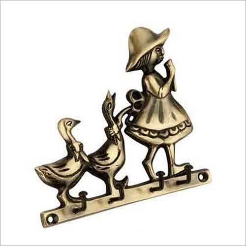 Brass Key Hanger