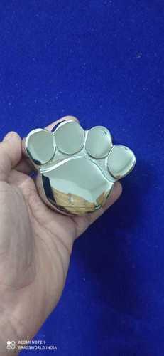 BRASS SILVER DOG PET PAW CREMATION URN FUNERAL SUPPLIES