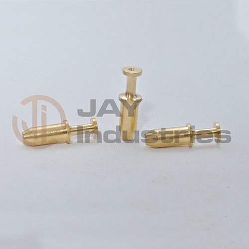 Brass Special Turned Pin with 0.6mm Hole