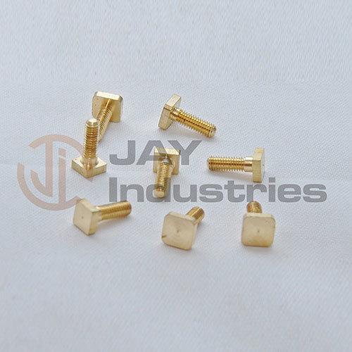 Brass Screw - Stud And Nipple