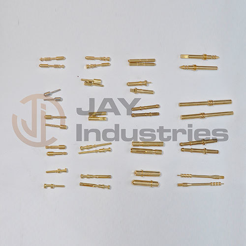 Brass Male and Female pin and Socket