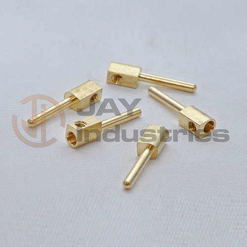 Brass Male Pin with Wire Connector