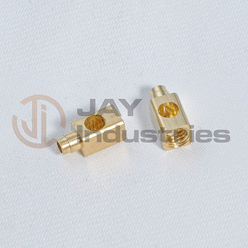 Brass Rivating Square Connector