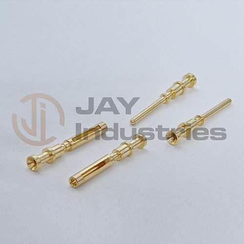 Brass Sloted Male-Female Electric  Pin