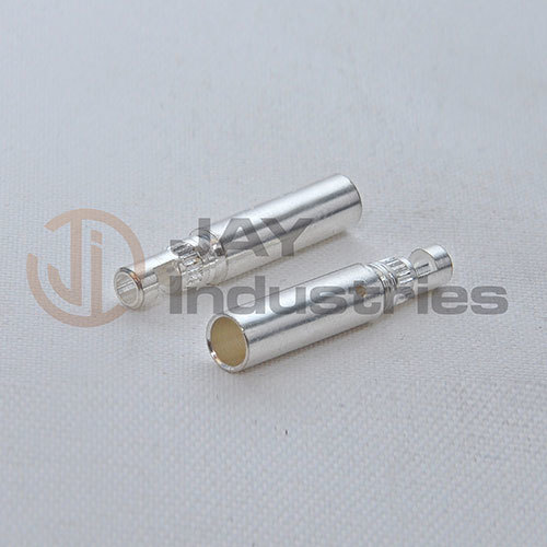 Brass Socket with Silver Plating