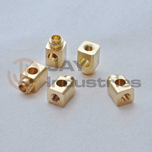 Brass Square Connector