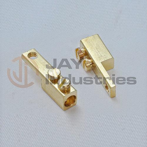 Brass Square Fuse Connectors