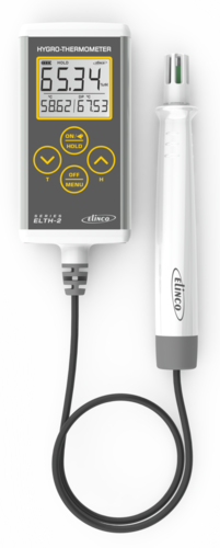 Hygro Thermometer with Dew Point ( ELTH - 2) Resolution : 0.1