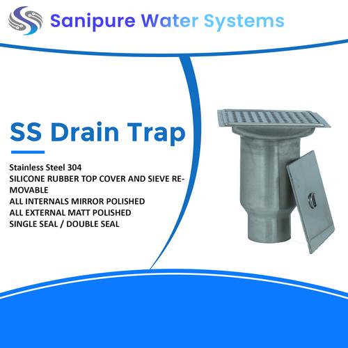 Steel Drain Trap