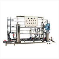 Industrial Reverse Osmosis RO Plant