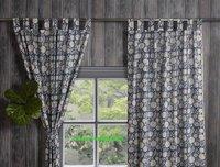 Beautiful Hand Print Designers Cotton Curtain
