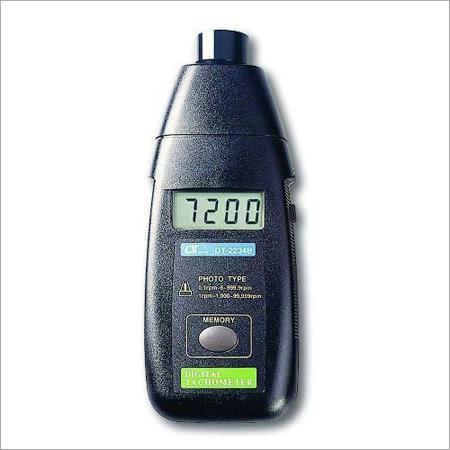RPM Tachometer Contact Non Contact