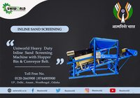 Inline Sand Screening Machine