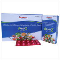 Multivitamin With Ginseng Methylcobalmin And Folic Acid Capsules
