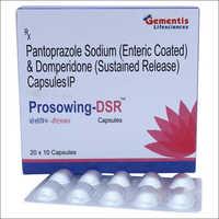 Pantoprazole Sodium Enteric Coated And Domperidone Sustained Release Capsules IP