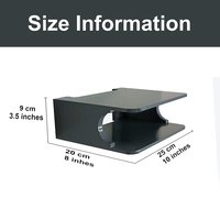 Wall Mounted Set Top Box And Wireless Wifi Router Stand