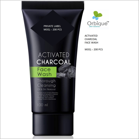 Charcoal Face Wash Third Party