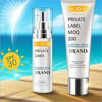 Sunscreen Lotion Third Party