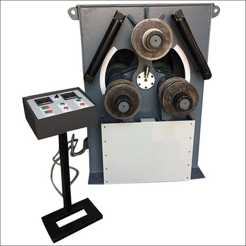 Hydraulic Double Pinch Section Bending Machine
