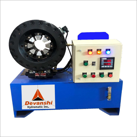 DHI - 37 ED Horizontal Hydraulic Hose Crimping Machine