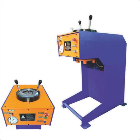 DHI - 21 V Vertical Hose Crimping Machine