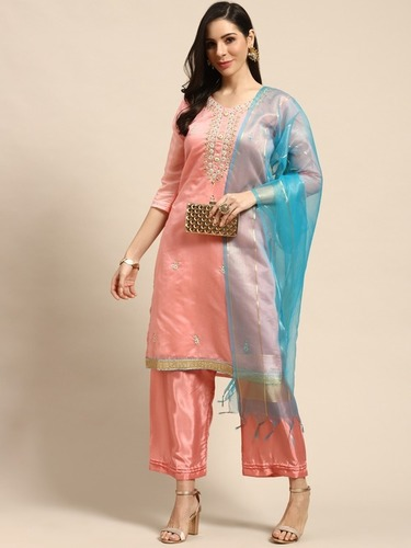 Fashionable Unstitched Material Salwar Suit