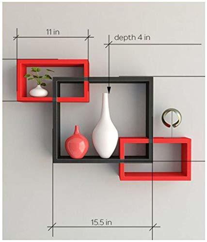 wooden wall shelf
