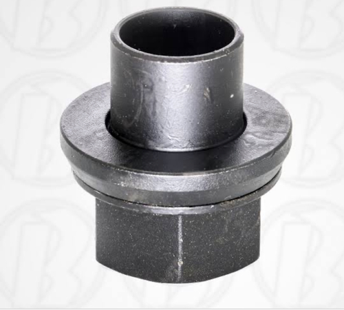 Lug wheel nut with pressure pad & cover
