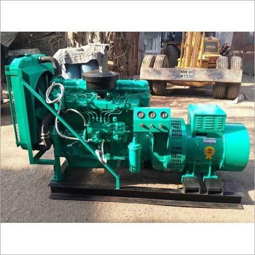 40 KVA Used Tata Cummins Soundproof Diesel Generator Set