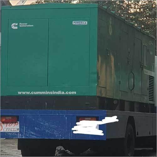 500 kVA Used Cummins Pre Owned Truck Mounted Diesel Generator Set