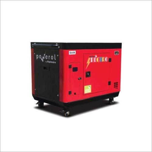 5 kVA Mahindra Powerol Spectro Series Portable Generator Set