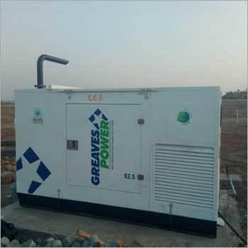 62.5 kVA Greaves Power Pre Owned Generator Set