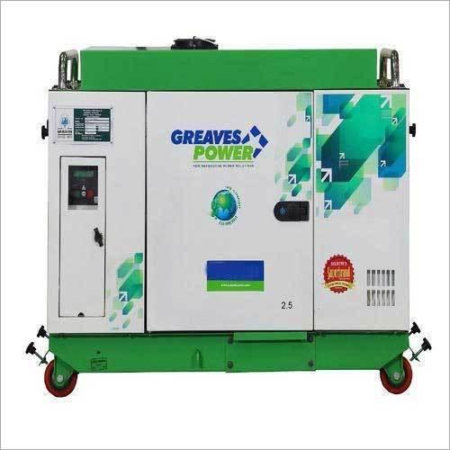 GPA II-2.5 2.5kVA Or 2kW Greaves Power Generator Set