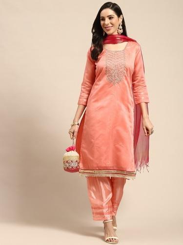 Trendy Unstitched Material Salwar Suit