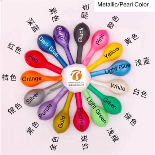 Metallic Pearl Color Balloons